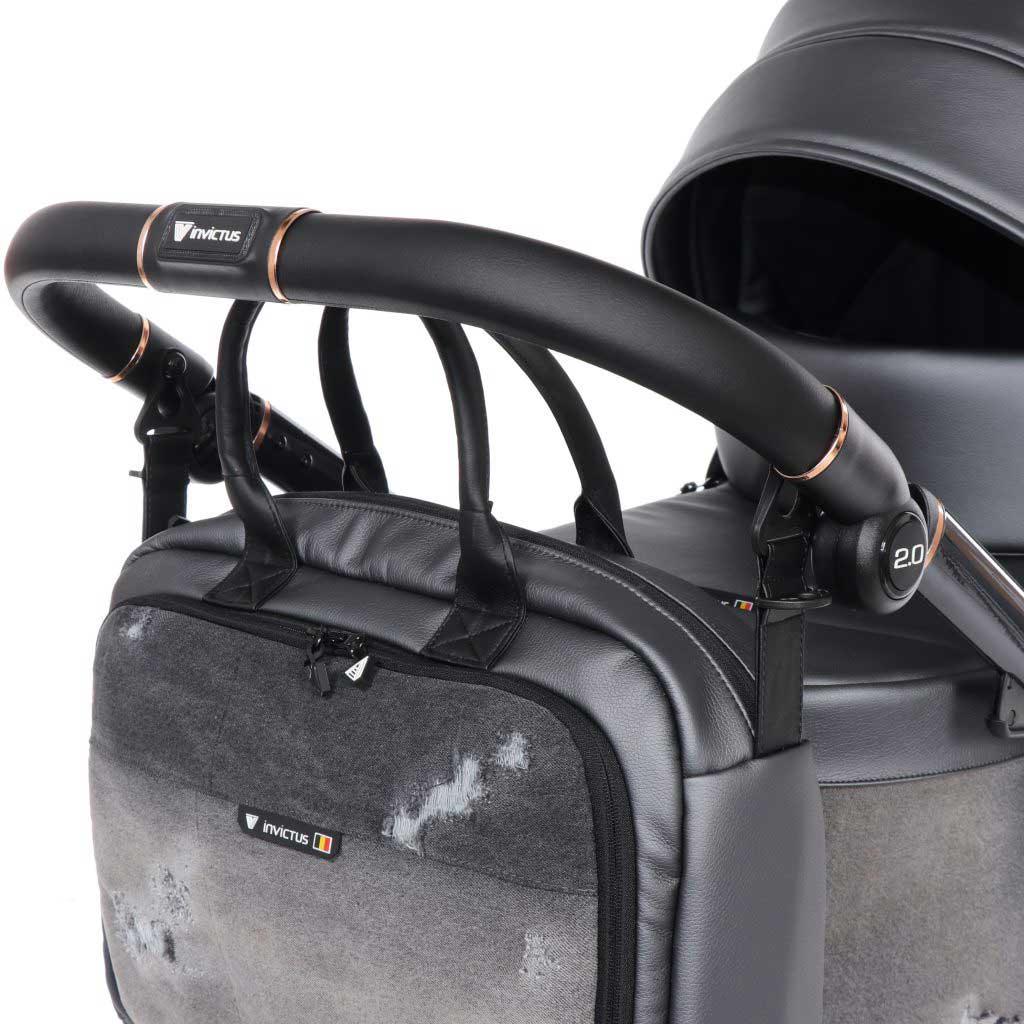 invictus 2-0 jeans black barnvagn 07