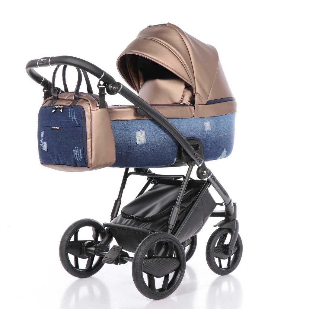 invictus 2-0 jeans blue barnvagn 02