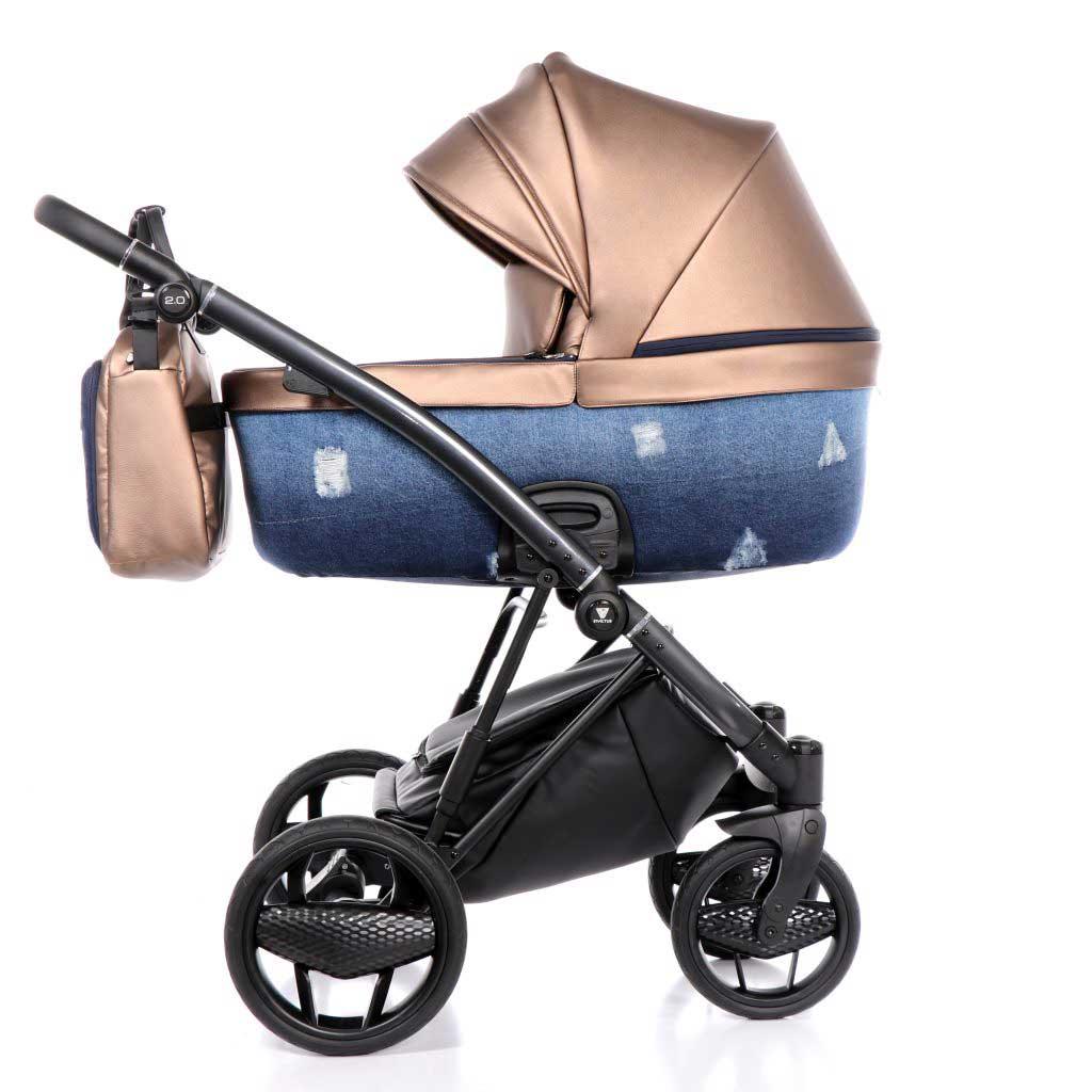 invictus 2-0 jeans blue barnvagn