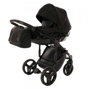 Junama Diamond Black Barnvagn