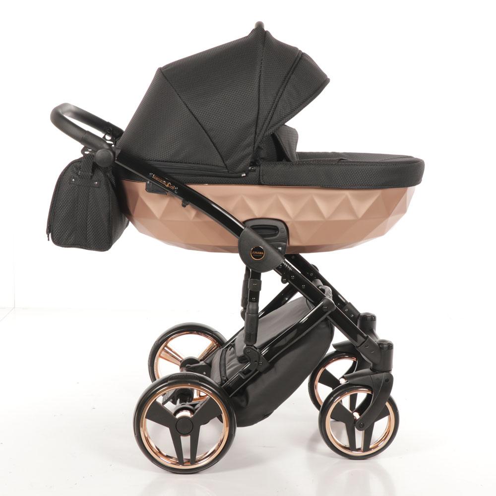 Junama Mirror - Black Gold barnvagn