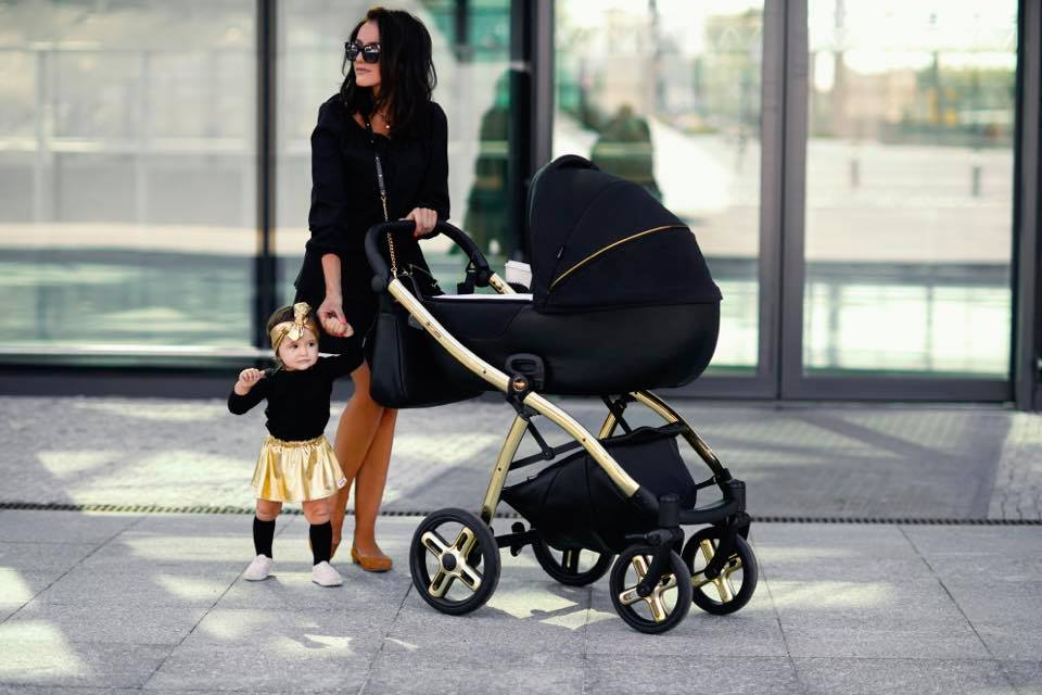 Laret classic barnvagn