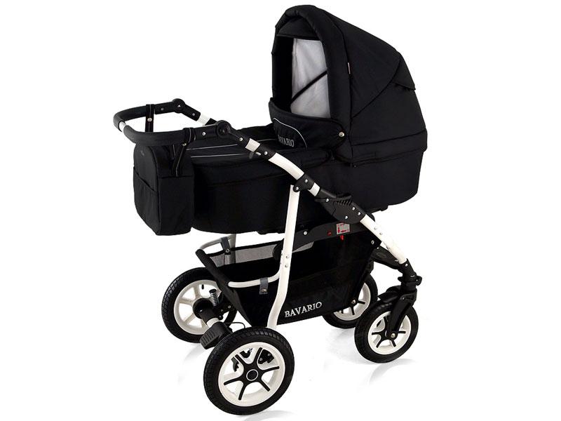 Limited edition black barnvagn