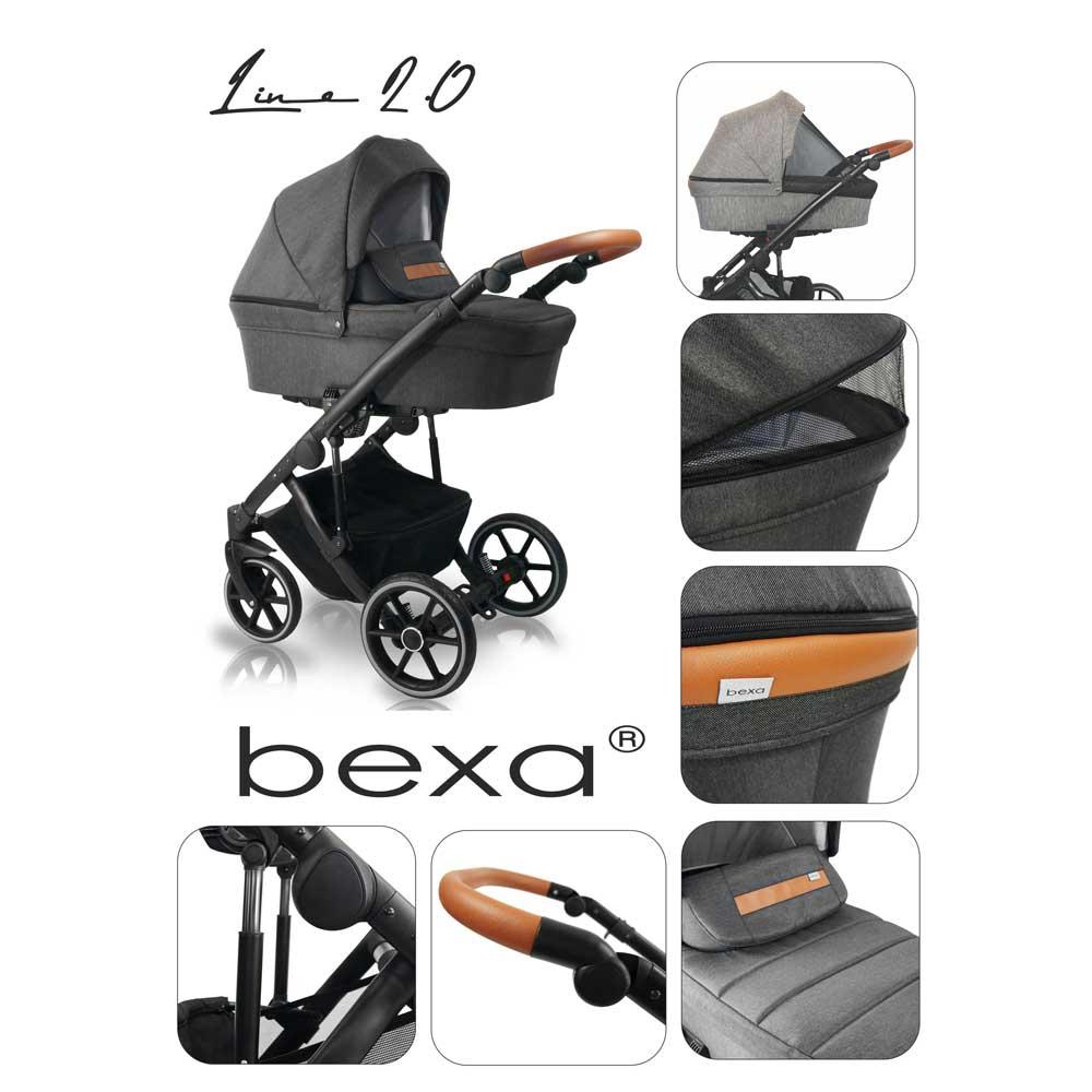 Line Duo 2.0 barnvagn