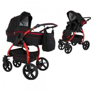 Lucky barnvagn LT Red