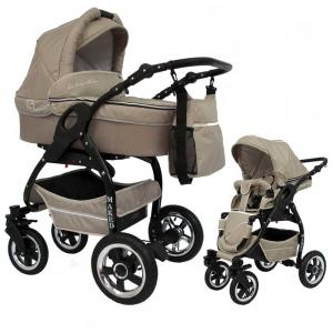 Lucky 2 in 1 Barnvagn - Beige