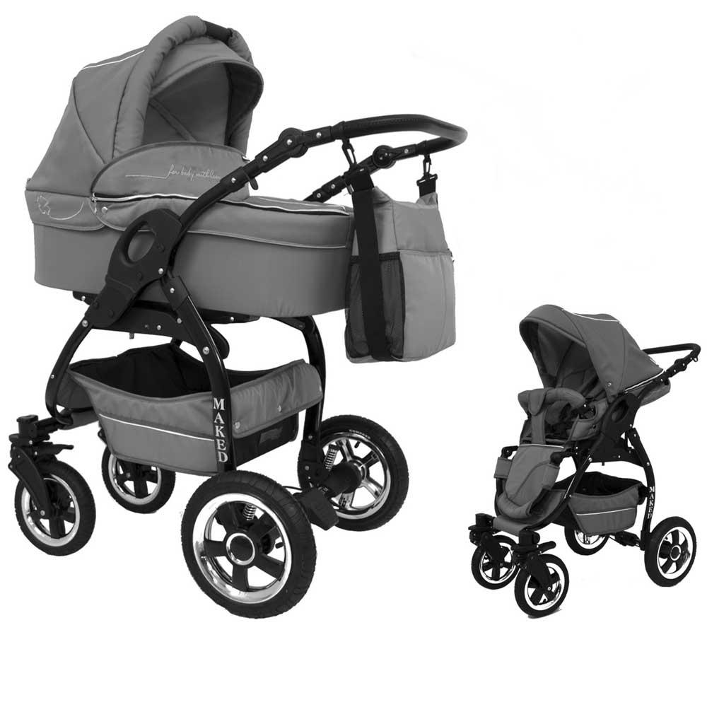 Lucky Grå 2 in 1 barnvagn