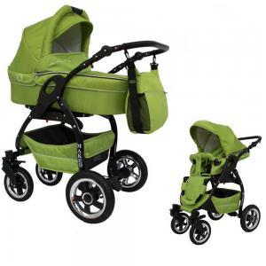Lucky Grån 2 in 1 barnvagn