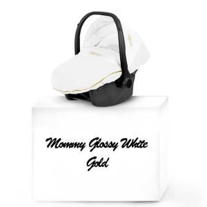 Mommy Glossy White babyskydd 01