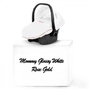 Mommy Glossy White babyskydd 02