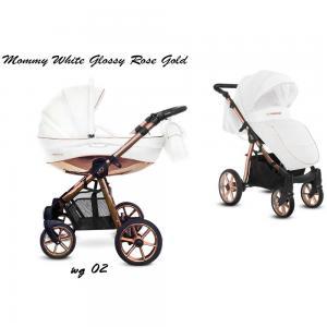 Mommy Glossy White MG-02
