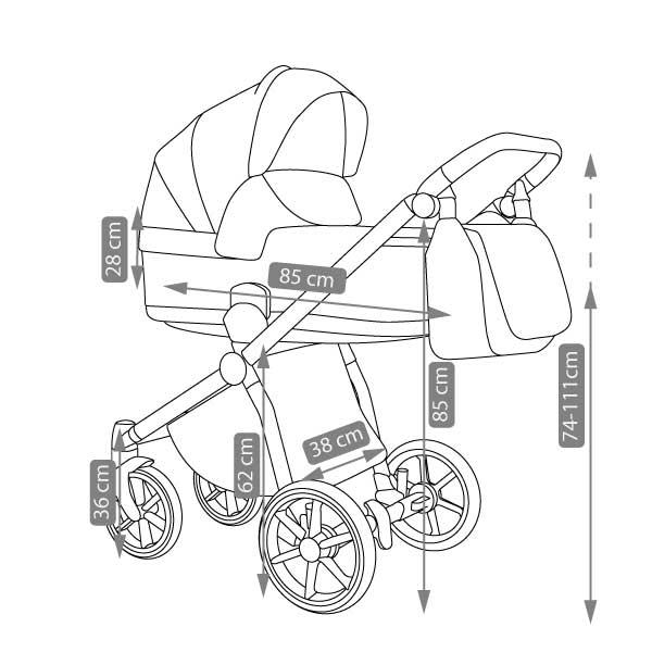Previo barnvagn -1-9