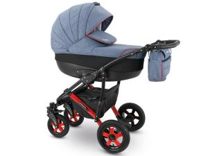 Sevilla  rymlig och bekväm duo barnvagn