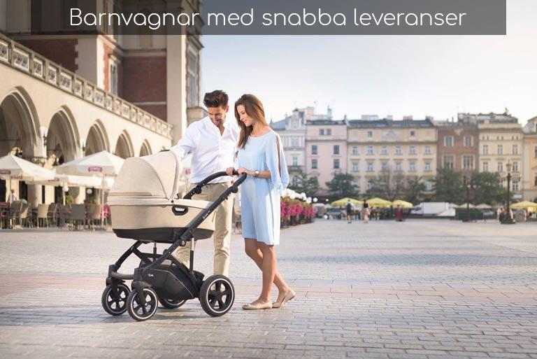 Snabbare leveranser på Barnvagnar