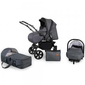 turne barnvagn grey 3in1