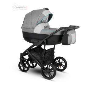 Veo Duo  Barnvagn Grey/Black