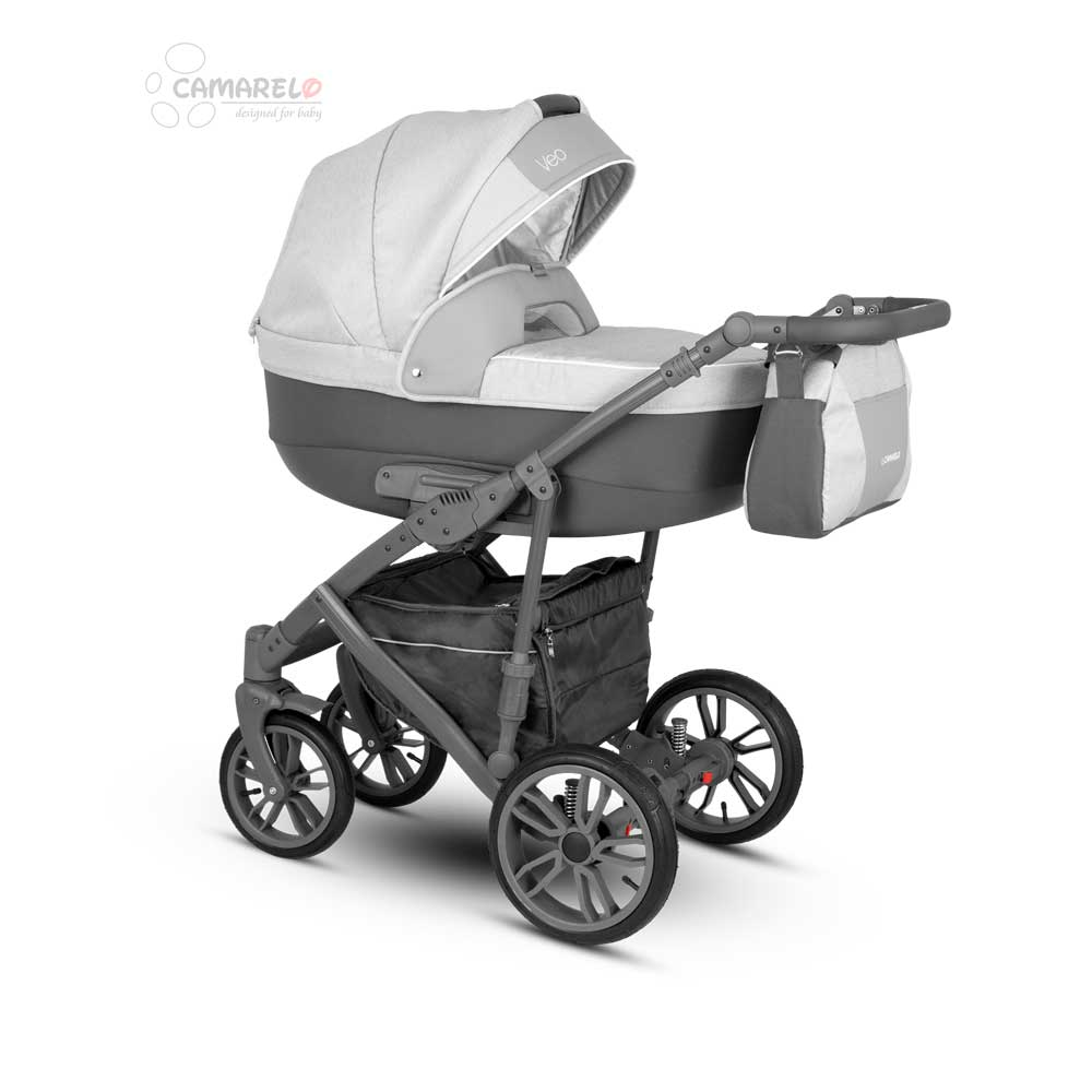 Veo Duo  Barnvagn Grey