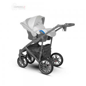 Veo Duo  Babyskydd Grey