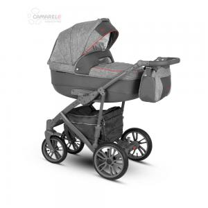 Veo Duo  Barnvagn Lounge Grey