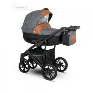 Veo Duo  Barnvagn Grey/Brown