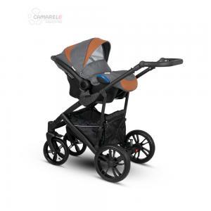 Veo Babyskydd Grey/Brown