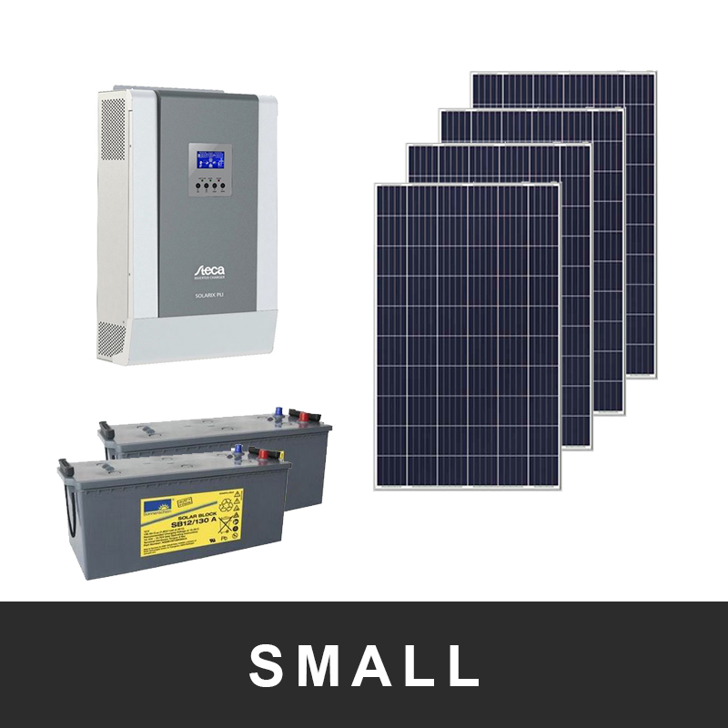 Off-gridpaket 1-fas Small