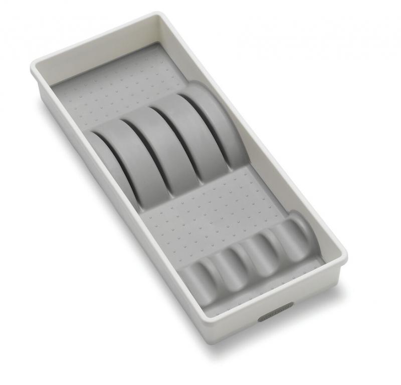 Madesmart knivhållare. Skyddar och håller ordning på dina köksknivar. Perfekt i kökslådan