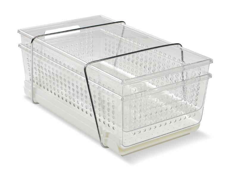 Utdragbara förvaringslådor till köket eller badrummet från Madesmart