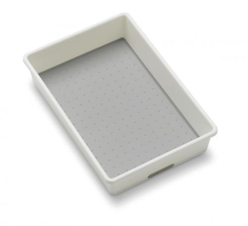 Förvaringslåda 25 x 17,2 x 5,1 cm, vit