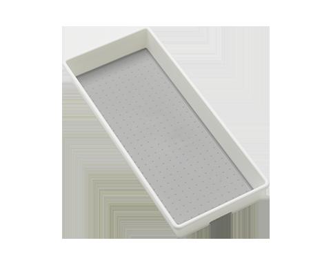 Förvaringslåda 40x17,2x5,4 cm, vit