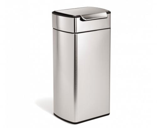 Touch-bar 30 liter, rektangulär  rostfritt stål