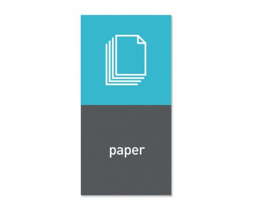 Magnetisk etikett ''Paper''
