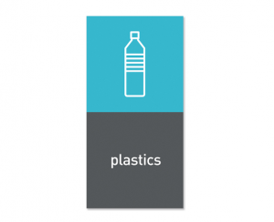Magnetisk etikett ''Plastics''