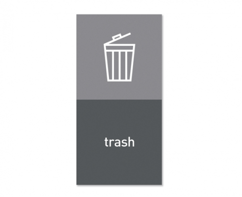 Magnetisk etikett ''Trash''