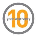 Simplehuman soptunnor har hög kvalitet och 10 års garanti