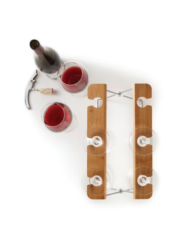Torkställ för vinglas från Madesmart