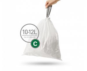 Innerpåse C, 10-12 liter, 20 pack
