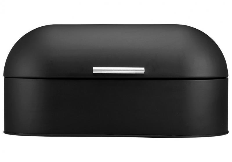 Brödlåda i soft matt svart av hög kvalitet
