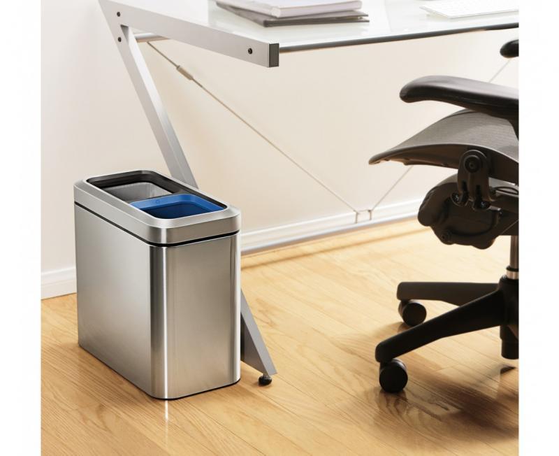 Simplehuman CW1470 sorterkärl för kontor