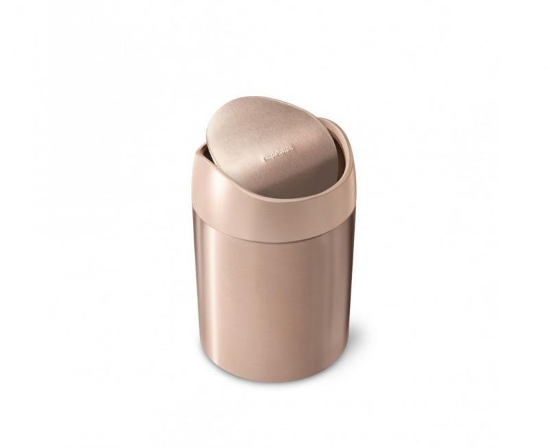 Bordstunna med vipplock rosé guld 1,5 l