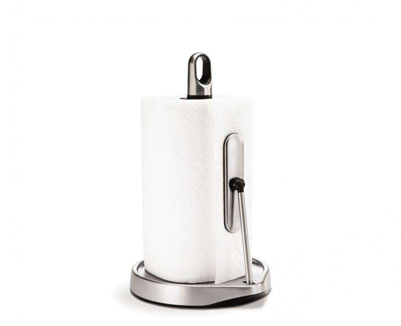 Simplehuman KT1162 hållare för hushållsrullar.< 23 cm, inbyggt stopp, RF
