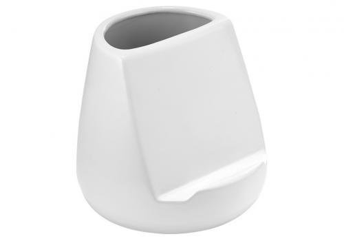 Hållare för köksredskap och surfplatta, glossy vit