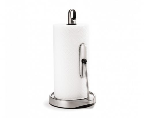 Simplehuman KT1161 hållare för hushållsrullar. Inbyggt stopp. 23-28 cm