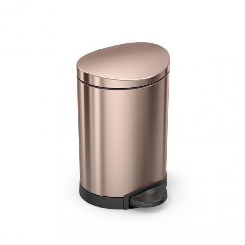 Pedalhink i rosenguld kulör från Simplehuman. Perfekt för badrummet eller toaletten