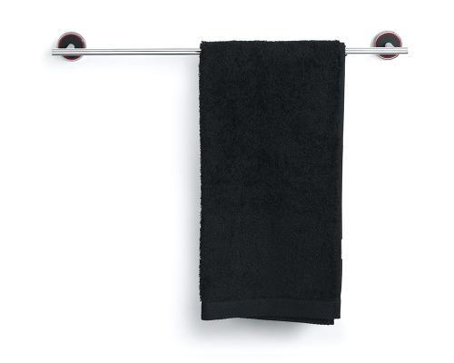 Rode Bath handdukshängare i polerat stål och svart gjutmarmor