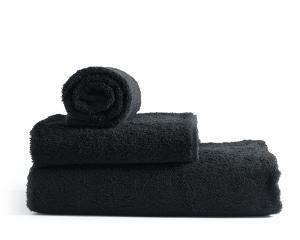 Rpde Bath svarta badlakan i 100% bomullsfrotté. Mjuka och sköna som torkar dig torr
