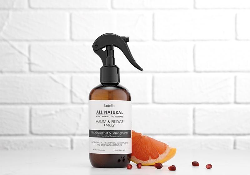All natural doft och rumsspray tillverkat av enbart naturliga ingredienser