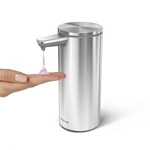 Simplehuman automatiska tvålpumpar med ställbart tvålflöde
