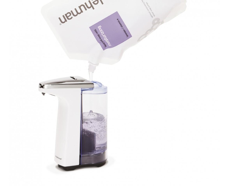 Nya Simplehuman ST1018 automatisk tvålpump vit CO-38