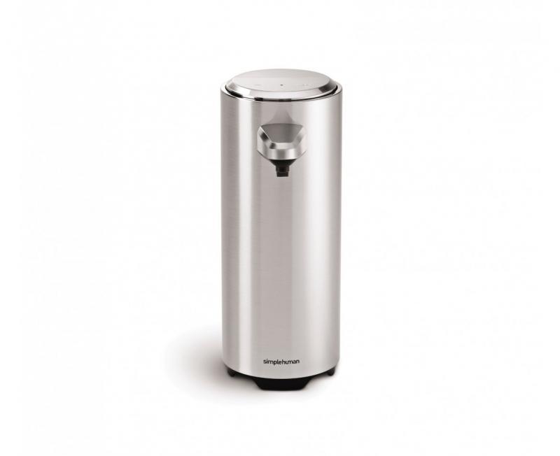 Simplehuman ST1027 Sensor diskmedelspump, uppladdningsbar, 325 ml, borstad nickel